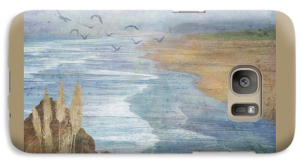 Galaxy Case featuring the digital art Misty Retreat by Christina Lihani