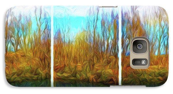 Misty River Vistas - Triptych Galaxy S7 Case