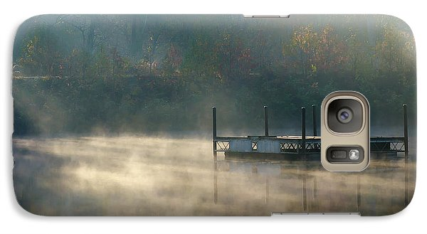Galaxy Case featuring the photograph Misty Sunrise by George Randy Bass