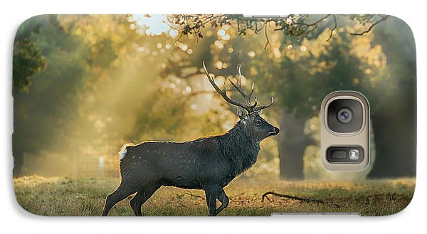 Galaxy Case featuring the photograph Misty Walk by Scott Carruthers