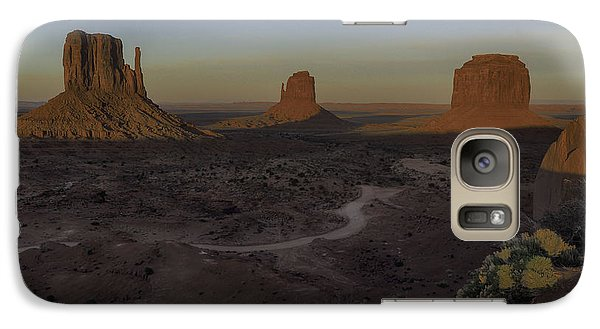 Galaxy Case featuring the photograph Mittens Morning Greeting by Rob Wilson