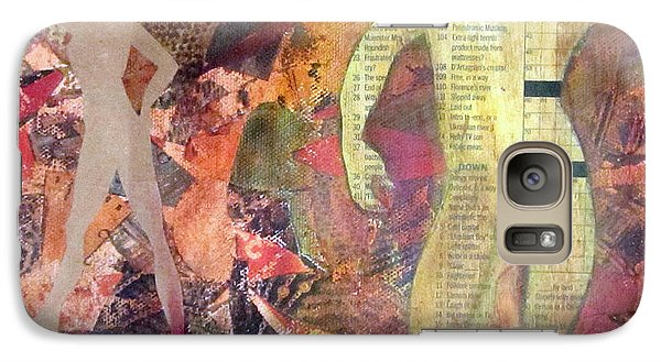 Galaxy Case featuring the mixed media Mixed Media by Patricia Cleasby
