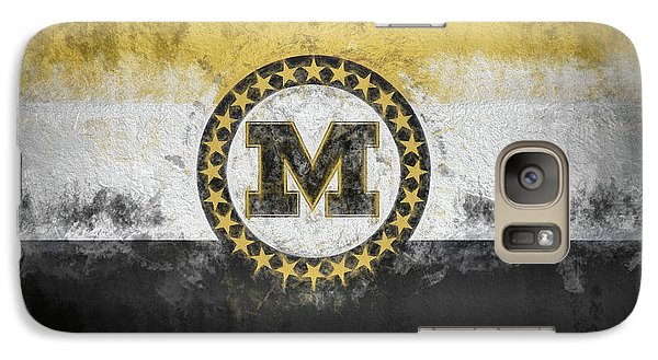 Galaxy S7 Case featuring the digital art Mizzou State Flag by JC Findley