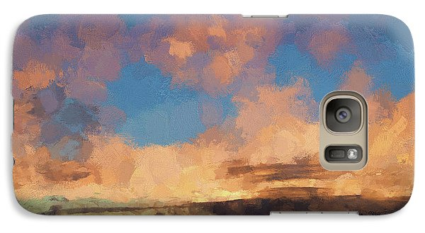 Galaxy Case featuring the photograph Moab Sunrise Abstract Painterly by David Gordon