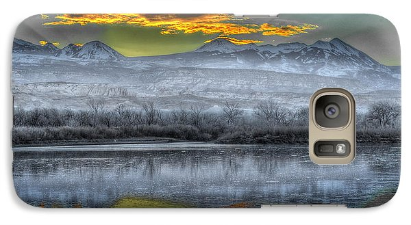 Galaxy Case featuring the photograph Moab Sunrise by Wendell Thompson
