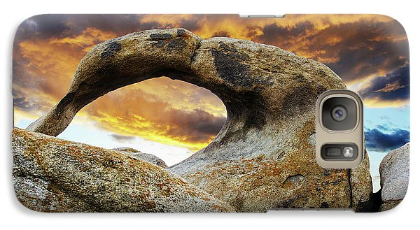 Galaxy Case featuring the photograph Mobious Arch California 7 by Bob Christopher