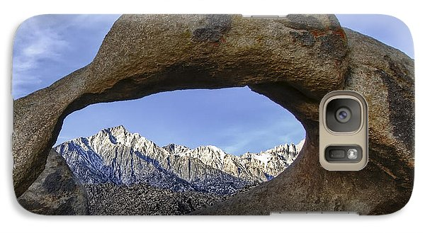 Mobius Arch And Lone Pine Mt. Galaxy S7 Case