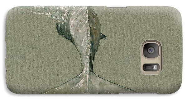Moby Dick The White Sperm Whale  Galaxy S7 Case