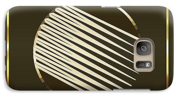 Galaxy Case featuring the digital art Mocha 1 - Chuck Staley by Chuck Staley