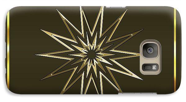 Galaxy Case featuring the digital art Mocha 3 - Chuck Staley by Chuck Staley