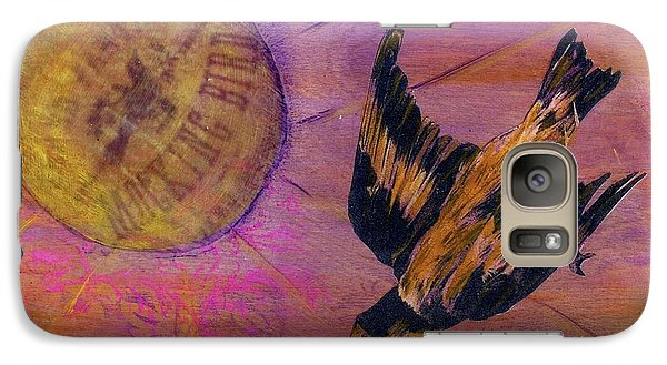 Galaxy Case featuring the mixed media Mockingbird by Desiree Paquette