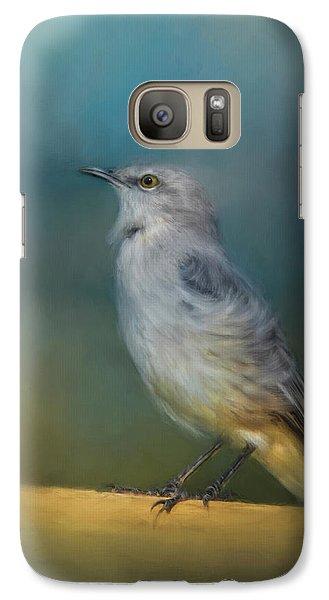 Mockingbird On A Windy Day Galaxy S7 Case