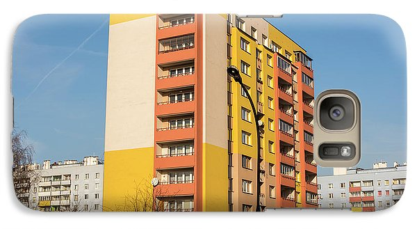 Galaxy Case featuring the photograph Modern Apartment Buildings by Juli Scalzi