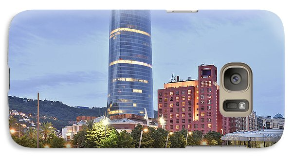 Galaxy Case featuring the photograph Modern Architecture Bilbao Spain by Marek Stepan