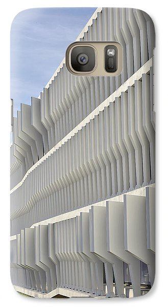 Galaxy Case featuring the photograph Modern Facade Abstract by Marek Stepan