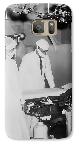 Galaxy Case featuring the photograph Modern Surgery by Daniel Hagerman