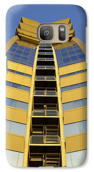 Galaxy Case featuring the photograph Modern W Hotel Barcelona by Marek Stepan