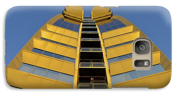 Galaxy Case featuring the photograph Modern W Hotel Barcelona Spain by Marek Stepan