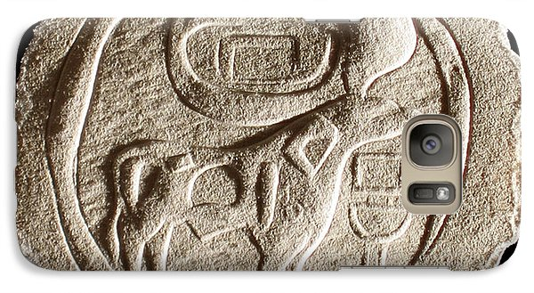 Galaxy Case featuring the relief Mohenjodaro Seal by Suhas Tavkar