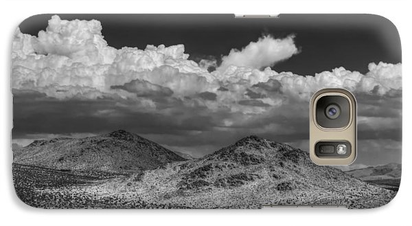 Galaxy Case featuring the photograph Mojave 020 Bw by Lance Vaughn