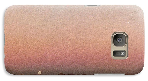 Galaxy Case featuring the digital art Mojave Sunset by Walter Chamberlain