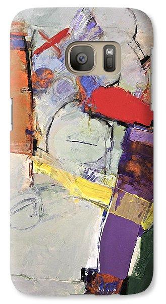 Galaxy Case featuring the painting Mojo Rizen Via La Woman by Cliff Spohn