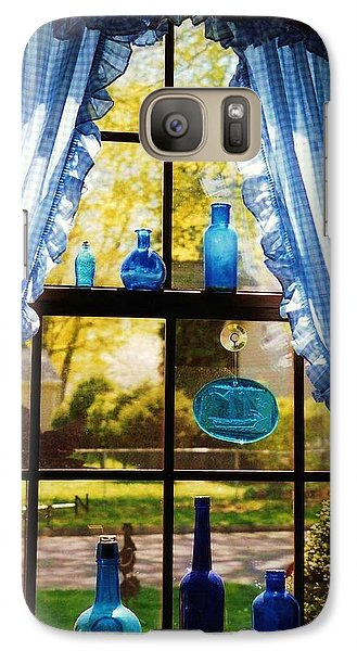 Galaxy Case featuring the photograph Mom's Kitchen Window by John Scates
