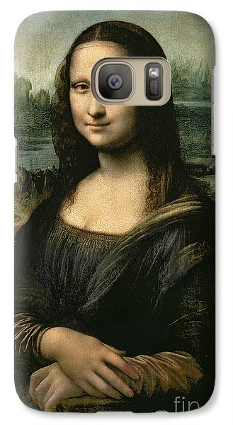 Portraits Galaxy S7 Case - Mona Lisa by Leonardo da Vinci