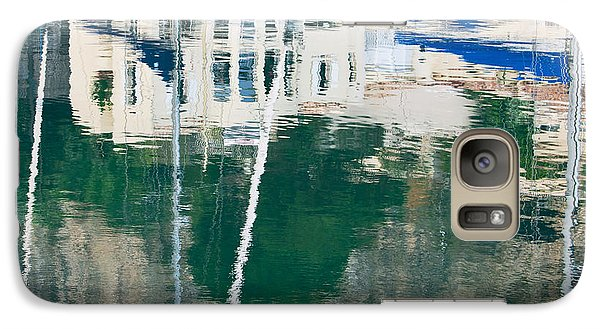 Galaxy Case featuring the photograph Monaco Reflection by Keith Armstrong