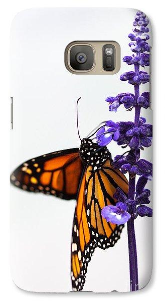 Monarch Butterfly Galaxy S7 Case