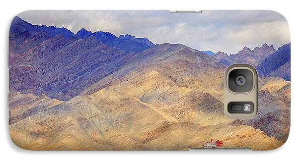 Galaxy Case featuring the photograph Monastery In The Mountains by Alexey Stiop