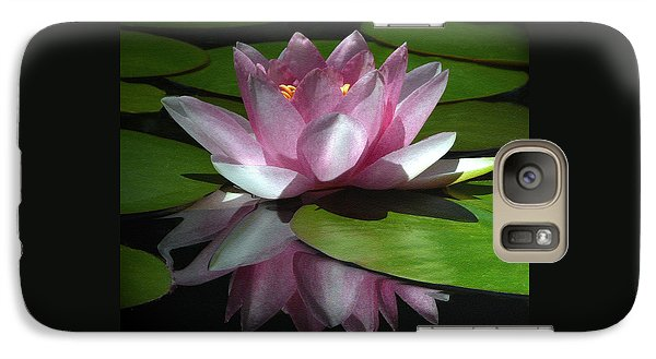 Galaxy Case featuring the photograph Monet's Muse by Marion Cullen