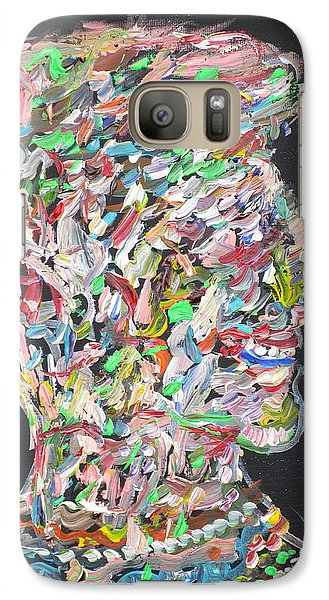 Galaxy Case featuring the painting Money,sex And Power by Fabrizio Cassetta