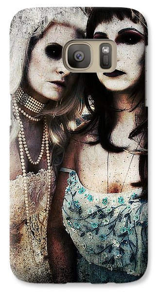 Galaxy Case featuring the digital art Monique And Ryli 1 by Mark Baranowski