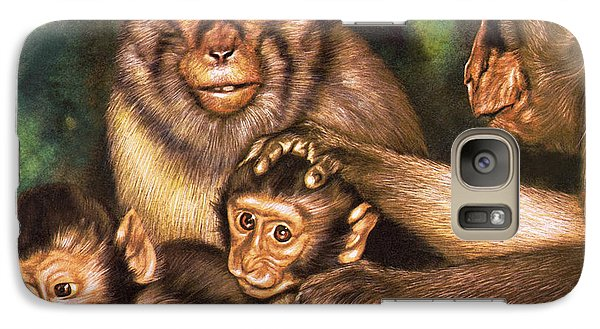 Monkey Family Galaxy S7 Case
