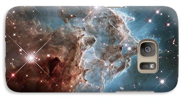Galaxy Case featuring the photograph Monkey Head Nebula by Marco Oliveira