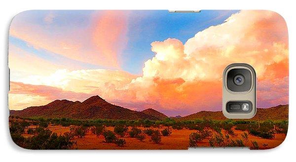 Monsoon Storm Sunset Galaxy S7 Case