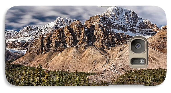 Galaxy Case featuring the photograph Mont Crowfoot On The Icefield Parkway by Pierre Leclerc Photography