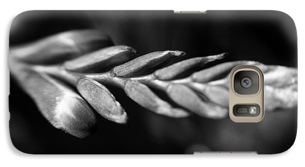 Galaxy Case featuring the photograph Montbretia  by Keith Elliott