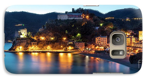 Galaxy Case featuring the photograph Monterosso Al Mare At Twilight by Brian Jannsen