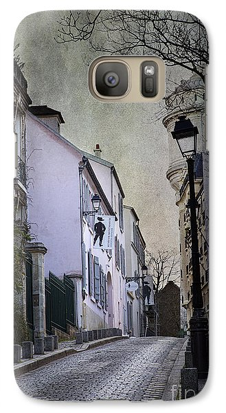 Galaxy Case featuring the photograph Montmartre by Elena Nosyreva