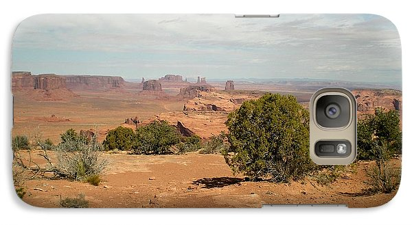 Galaxy Case featuring the photograph Monument Valley by Fred Wilson