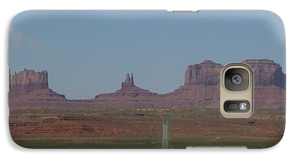 Galaxy Case featuring the photograph Monument Valley Navajo Tribal Park by Christopher Kirby