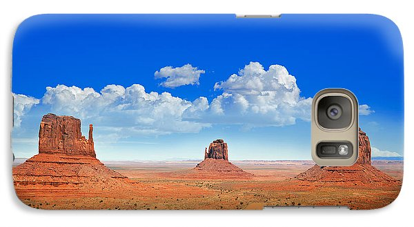 Desert Galaxy S7 Case - Monument Vally Buttes by Jane Rix
