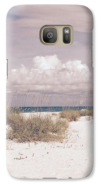 Galaxy Case featuring the photograph Anna Maria Island Moods Of June by Jean Marie Maggi