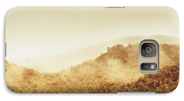 Mount Rushmore Galaxy S7 Case - Moody Mountain Morning by Jorgo Photography - Wall Art Gallery