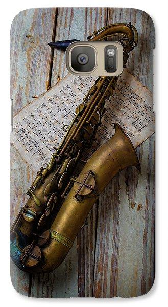 Moody Sax Galaxy S7 Case