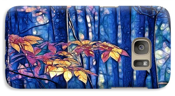 Galaxy Case featuring the photograph Moody Woods by Aimelle