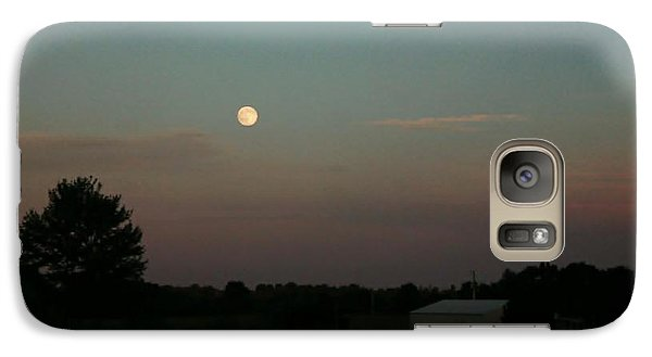 Galaxy Case featuring the photograph Moon Glow by Ellen O'Reilly