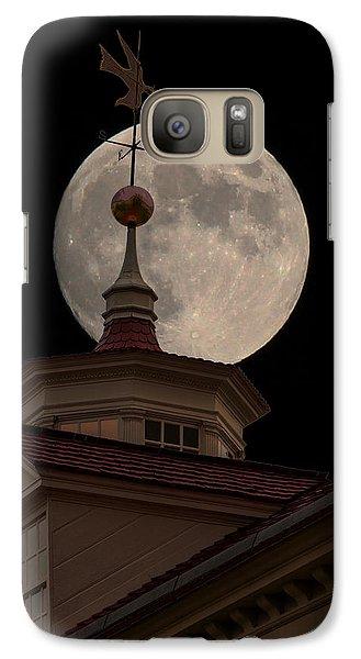 Moon Over Mount Vernon Galaxy S7 Case